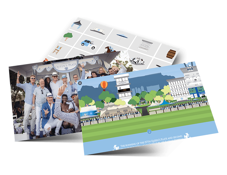 L'Ormarins Queen's Plate design elements overview
